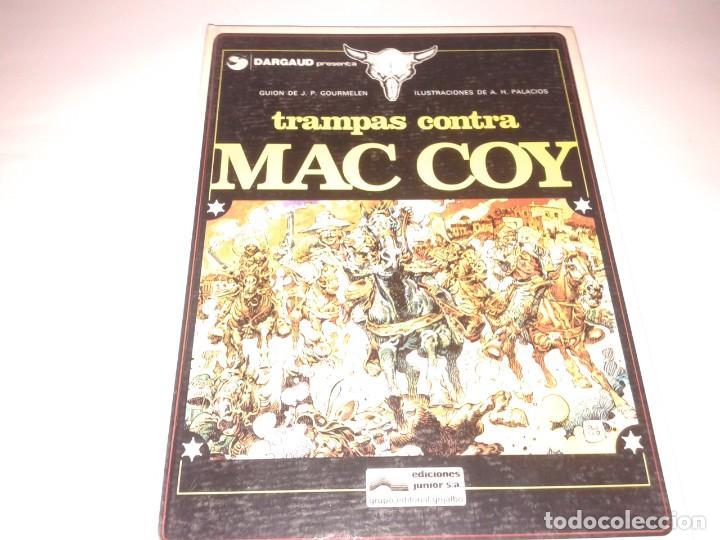 TRAMPAS CONTRA MAC COY, 1979 (Tebeos y Comics - Grijalbo - Mac Coy)