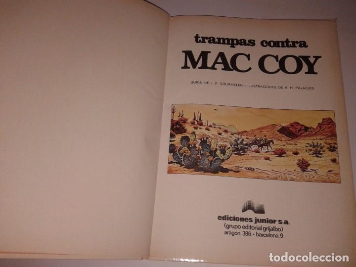 Cómics: TRAMPAS CONTRA MAC COY, 1979 - Foto 2 - 130971528