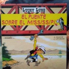 Cómics: LUCKY LUKE: EL PUENTE SOBRE EL MISSISSIPI, 2000, SALVAT. Lote 130981968