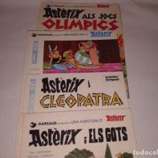 Cómics: CUATRO COMICS DE ASTERIX EN CATALA. Lote 131036268
