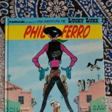 Cómics: PHIL FERRO UNA AVENTURA DE LUCKY LUKE EL CAMALLARG. Lote 131048468