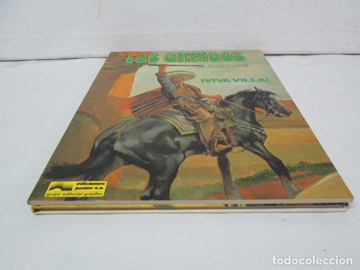 Cómics: LES GRINGOS. EDITIONS FLEURUS. 1979. LOS GRINGOS. EDICIONES JUNIOR GRIJALBO 1980. 2 COMICS.VER FOTOS - Foto 3 - 131090252