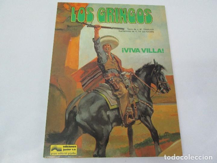 Cómics: LES GRINGOS. EDITIONS FLEURUS. 1979. LOS GRINGOS. EDICIONES JUNIOR GRIJALBO 1980. 2 COMICS.VER FOTOS - Foto 6 - 131090252