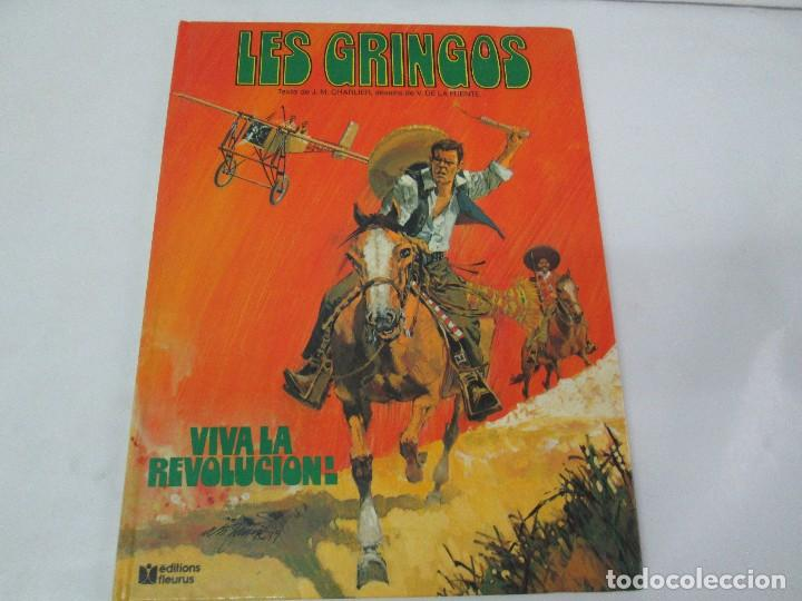 Cómics: LES GRINGOS. EDITIONS FLEURUS. 1979. LOS GRINGOS. EDICIONES JUNIOR GRIJALBO 1980. 2 COMICS.VER FOTOS - Foto 13 - 131090252