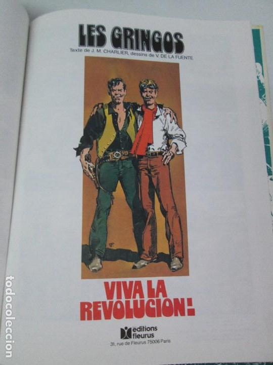 Cómics: LES GRINGOS. EDITIONS FLEURUS. 1979. LOS GRINGOS. EDICIONES JUNIOR GRIJALBO 1980. 2 COMICS.VER FOTOS - Foto 14 - 131090252