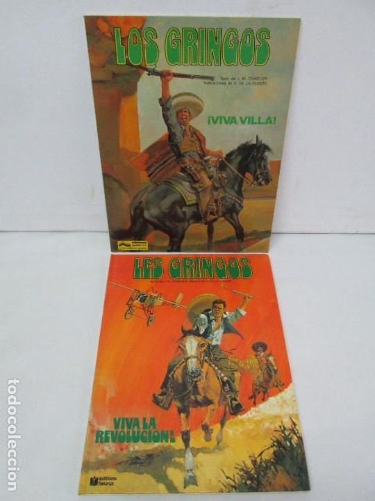 LES GRINGOS. EDITIONS FLEURUS. 1979. LOS GRINGOS. EDICIONES JUNIOR GRIJALBO 1980. 2 COMICS.VER FOTOS (Tebeos y Comics - Grijalbo - Otros)