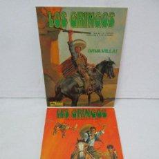 Cómics: LES GRINGOS. EDITIONS FLEURUS. 1979. LOS GRINGOS. EDICIONES JUNIOR GRIJALBO 1980. 2 COMICS.VER FOTOS. Lote 131090252