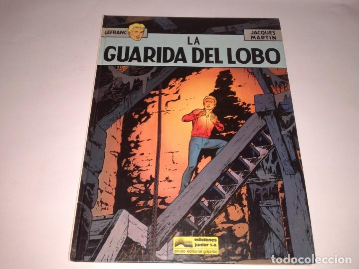Cómics: LA GUARIDA DEL LOBO, 1986 JACQUES MARTIN - Foto 1 - 131153512