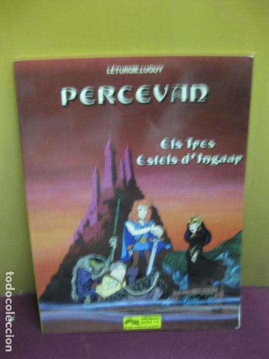 PERCEVAN. ELS TRES ESTELS D'INGAAR. EDICIONES JUNIOR 1984. EN CATALA. (Tebeos y Comics - Grijalbo - Percevan)