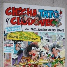 Cómics: CHICHA, TATO Y CLODOVEO Nº2 -- PERO...¿QUIENES SON ESOS TIPOS?.. Lote 131318562