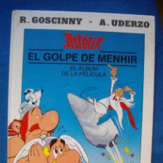 Cómics: ASTERIX EL GOLPE DE MENHIR EL ALBUM DE LA PELICULA GOSCINNY UDERZO EDICIONES JUNIOR GRUPO GRIJALBO. Lote 131321046