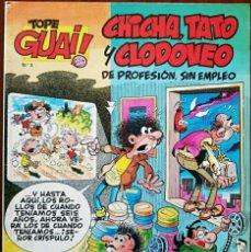 Cómics: TEBEO N°3 CHICHA TATO Y CLODOVEO 1987. Lote 131469809
