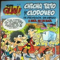 Cómics: TEBEO N°18 CHICHA TATO Y CLODOVEO 1987. Lote 131470274