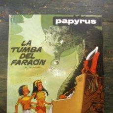 Cómics: LA TUMBA DEL FARAÓN. PAPYRUS; DE GIETER; JUNIOR, 1981; 8474196051. Lote 131620766