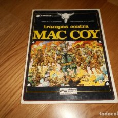 Cómics: TRAMPAS CONTRA MAC COY. GRIJALBO. 1979 1º ED BUEN ESTADO. Lote 131745890