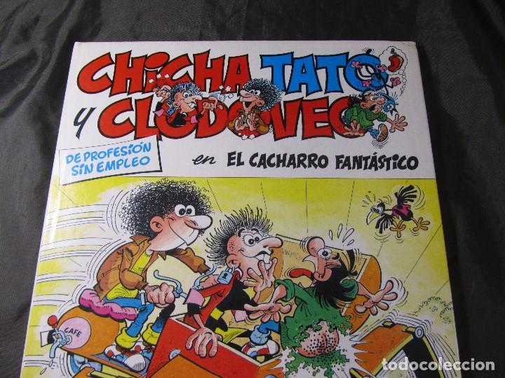 CHICHA TATO Y CLODOVEO NÚMERO 4 EL CACHARRO FANTASTICO 1987 (Tebeos y Comics - Grijalbo - Otros)