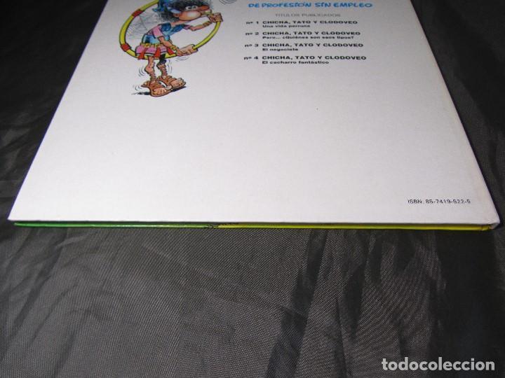 Cómics: CHICHA TATO Y CLODOVEO NÚMERO 4 EL CACHARRO FANTASTICO 1987 - Foto 3 - 131821434