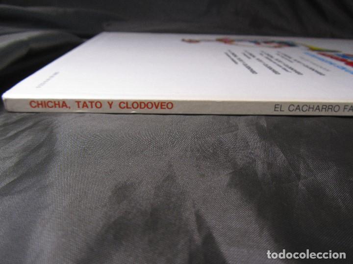 Cómics: CHICHA TATO Y CLODOVEO NÚMERO 4 EL CACHARRO FANTASTICO 1987 - Foto 4 - 131821434