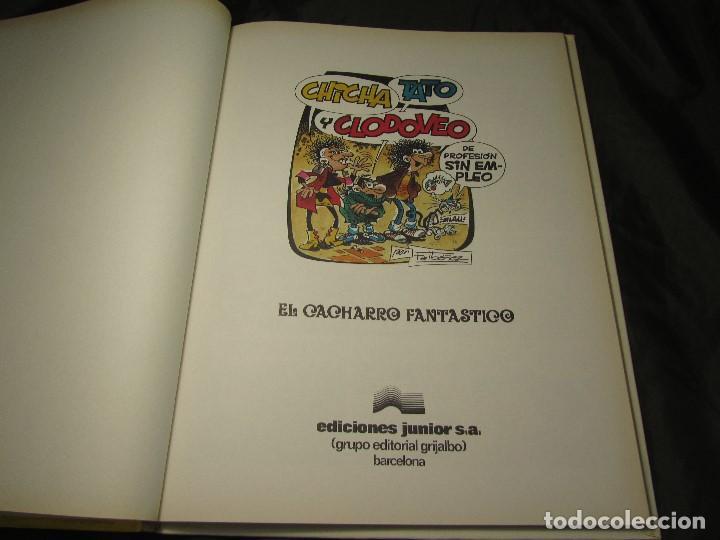 Cómics: CHICHA TATO Y CLODOVEO NÚMERO 4 EL CACHARRO FANTASTICO 1987 - Foto 9 - 131821434