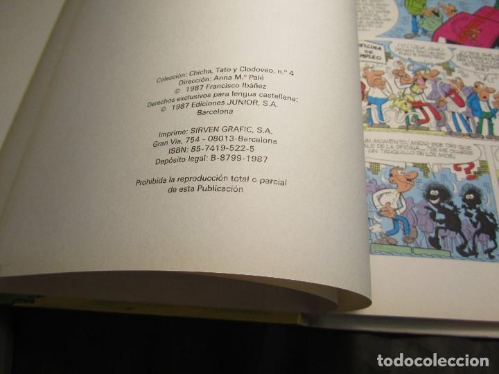 Cómics: CHICHA TATO Y CLODOVEO NÚMERO 4 EL CACHARRO FANTASTICO 1987 - Foto 10 - 131821434