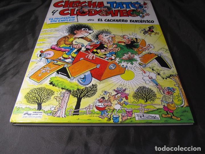 Cómics: CHICHA TATO Y CLODOVEO NÚMERO 4 EL CACHARRO FANTASTICO 1987 - Foto 11 - 131821434