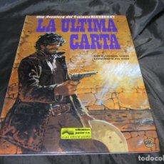 Cómics: LA ULTIMA CARTA LAS AVENTURAS DEL TENIENTE NÚMERO 33 BLUEBERRY GRIJALBO 1994. Lote 131847050