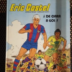 Cómics: COMIC - ERIC CASTEL #4 - DE CARA A GOL EDITORIAL GRIJALBO TAPA DURA EL JUGADOR DEL F.C. BARCELONA. Lote 132076198