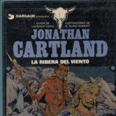 Cómics: JONATHAN CARTLAND Nº 3 - LA RIBERA DEL VIENTO (1985). Lote 132219754