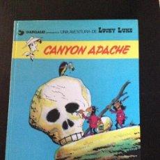 Cómics: LUCKY LUKE CANYON APACHE Nº17. Lote 132236578