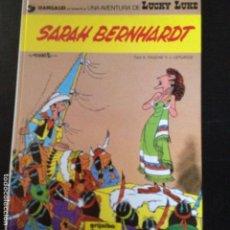 Cómics: LUCKY LUKE -SARAH BERNHARD,EN CATALA. Lote 132236942