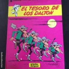 Cómics: LUCKY LUKE -EL TESORO DE LOS DALTON Nº19 EN CASTELLANO. Lote 132237034