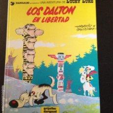 Cómics: LUCKY LUKE -LOS DALTON EN LIBERTAD Nº21 EN CASTELLANO. Lote 132237306