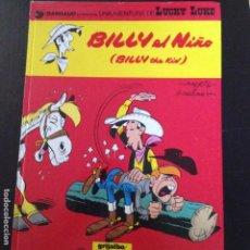 Cómics: LUCKY LUKE -BILLY EL NIÑO Nº14EN CASTELLANO. Lote 132237454