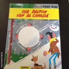 Cómics: LUCKY LUKE -LOS DALTON VAN A CANADA Nº22 EN CASTELLANO. Lote 132237614