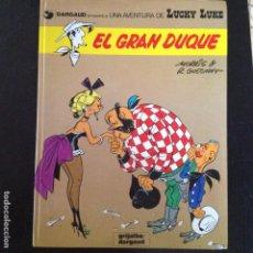 Cómics: LUCKY LUKE -EL GRAN DUQUE Nº3 EN CASTELLANO. Lote 132237714