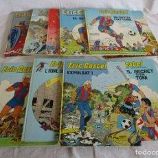Cómics: 10 TOMOS DE ERIC CASTEL COMICS FUTBOL. Lote 132264482