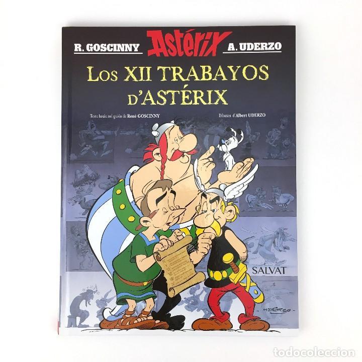 LOS XII TRABAYOS D´ASTERIX - IDIOMA ASTURIANO BABLE - LAS 12 PRUEBAS DE ASTERIX DOCE GOSCINNY UDERZO (Tebeos y Comics - Grijalbo - Asterix)