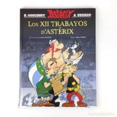Cómics: LOS XII TRABAYOS D´ASTERIX - IDIOMA ASTURIANO BABLE - LAS 12 PRUEBAS DE ASTERIX DOCE GOSCINNY UDERZO. Lote 132421702