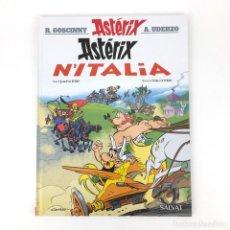 Cómics: ASTERIX N´ITALIA - IDIOMA ASTURIANO BABLE - EN ITALIA - COMIC NUEVO PERFECTO ESTADO FERRI CONRAD VGC. Lote 132421866