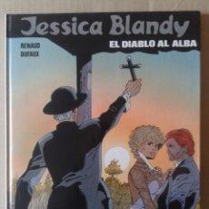 Cómics: JESSICA BLANDY N°3: EL DIABLO AL ALBA, POR RENAUD Y DUFAUX. EDICIONES JUNIOR / GRIJALBO, 1990.. Lote 132448781