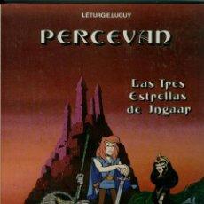 Cómics: PERCEVAN - LAS TRES ESTRELLAS DE INGAAR. Lote 132476898