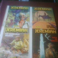 Cómics: JEREMIAH Nº 1,2,3 Y 4. Lote 132582934