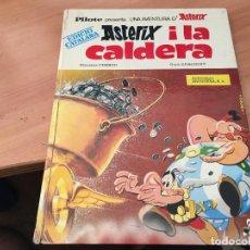 Cómics: ASTERIX I LA CALDERA (BRUGUERA) PRIMERA EDICION CATALANA 1970 (COIM9). Lote 132605902