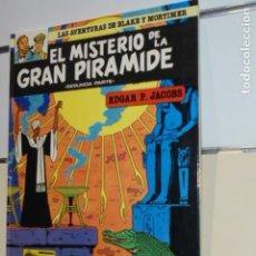 Cómics: LAS AVENTURAS DE BLAKE Y MORTIMER Nº 2 EL MISTERIO DE LA PIRAMIDE SEGUNDA PARTE - GRIJALBO OFERTA. Lote 132643106