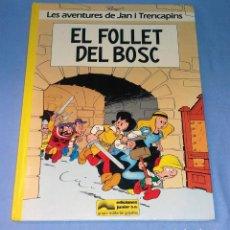 Cómics: LES AVENTURES DE JAN I TRENCAPINS EL FOLLET DEL BOSC DE GRIJALBO ORIGINAL EN MUY BUEN ESTADO. Lote 132668950