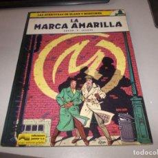 Cómics: LAS AVENTURAS DE BLAKE Y MORTIMER Nº 3 LA MARCA AMARILLA, EDGAR P. JACOBS. GRIJALBO 1.984. Lote 132716642