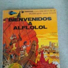Cómics: BIENVENIDOS A ALFLOLOL. VALERIAN. TOMO 3. GRIJALBO . CARTONÉ. Lote 132718862
