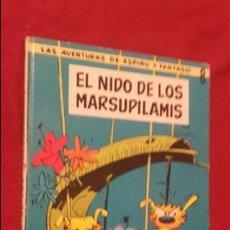 Cómics: EL NIDO DE LOS MARSUPILAMIS - ESPIRU Y FANTASIO 8 - FRANQUIN - ED. JAIMES LIBROS - CARTONE. Lote 132796310