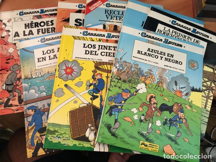 CASACAS AZULES LOTE COLECCION COMPLETA TAPA DURA A FALTA DEL Nº 3 (COIM10) (Tebeos y Comics - Grijalbo - Otros)