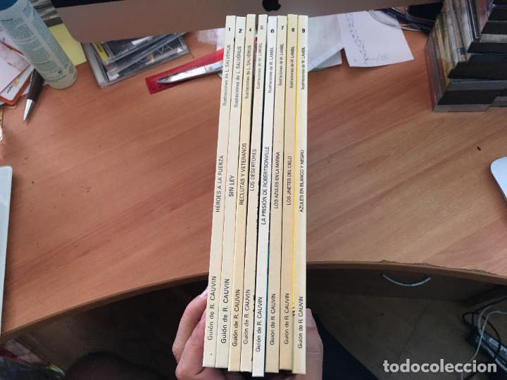 Cómics: CASACAS AZULES LOTE COLECCION COMPLETA TAPA DURA A FALTA DEL Nº 3 (COIM10) - Foto 2 - 132899810